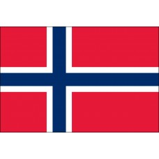 2x3' Nylon Norway Flag