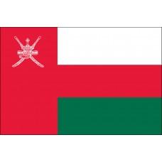 "4x6"" Hand Held Oman Flag"