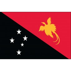 "4x6"" Hand Held Papua New Guinea Flag"