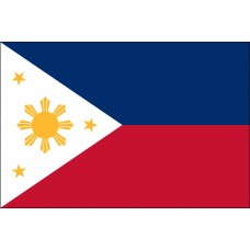 "4x6"" Hand Held Philippines Flag"