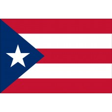 3x5' Lightweight Polyester Puerto Rico Flag