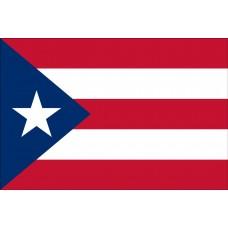 2x3' Nylon Puerto Rico Flag