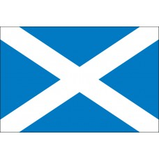 3x5' Nylon Scotland Saint Andrews Cross Flag