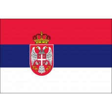 3x5' Lightweight Polyester Serbia Flag