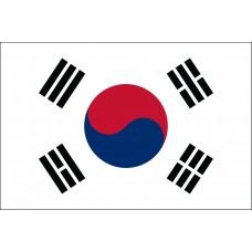 "4x6"" Hand Held South Korea Flag"
