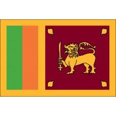 "4x6"" Hand Held Sri Lanka Flag"