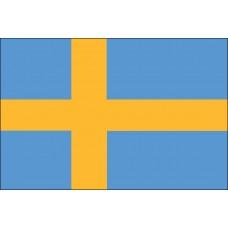 3x5' Lightweight Polyester Sweden Flag