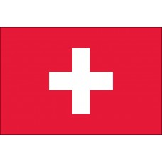"4x6"" Hand Held Switzerland Flag"