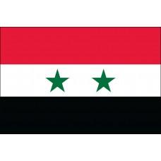 5x8' Nylon Syria Flag