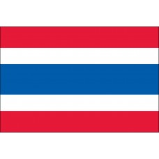 "4x6"" Hand Held Thailand Flag"