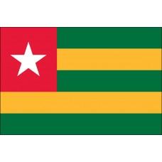 3x5' Lightweight Polyester Togo Flag