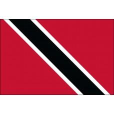 """4x6"""" Hand Held Trinidad And Tobago Flag"""