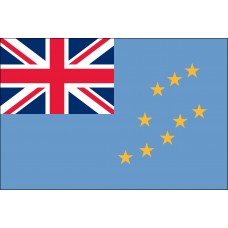 "4x6"" Hand Held Tuvalu Flag"