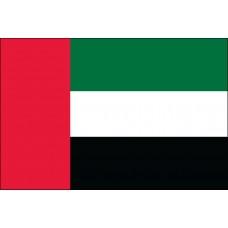 "4x6"" Hand Held United Arab Emirates Flag"