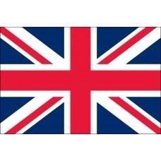 "4x6"" Hand Held United Kingdom Flag"