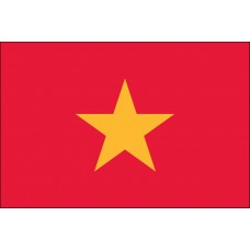 "4x6"" Hand Held Vietnam Flag"