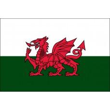 "4x6"" Hand Held Wales Flag"