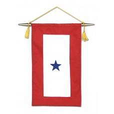 1 Blue Star Service Banner