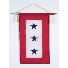 3 Blue Star Service Banner