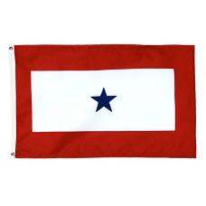 1 Blue Star Service Flag