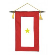 1 Gold Star Service Banner