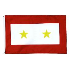 2 Gold Star Service Flag