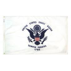 "12x18"" Nylon Coast Guard Flag"