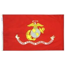 "12x18"" Nylon Marine Corps Flag"