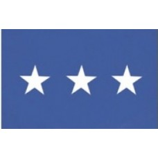 2x3' Nylon Lieutenant General Officer (Air Force) Flag