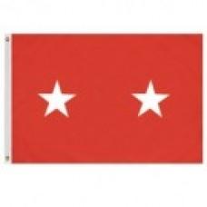 2x3' Nylon Major General Officer (Army) Flag