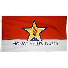 2x3' Nylon Honor and Remember Flag