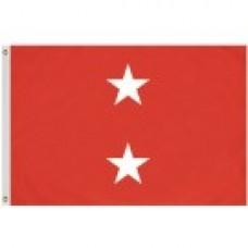2x3' Nylon Major General Officer (USMC - Marine Corps) Flag