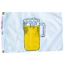 """12x18"""" Nylon Beer Flag"""