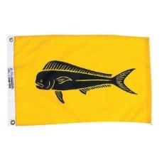 "12x18"" Nylon Dolphin Flag"