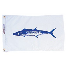 """12x18"""" Nylon King Mackerel Flag"""