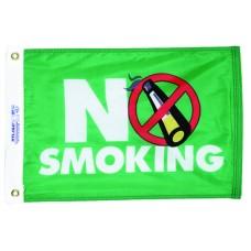 "12x18"" Nylon No Smoking Flag"