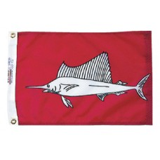 "12x18"" Nylon Sailfish Flag"