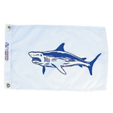 "12x18"" Nylon Shark Flag"