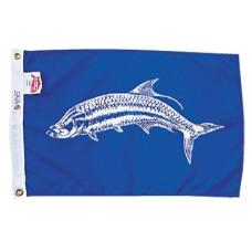 """12x18"""" Nylon Tarpon Flag"""