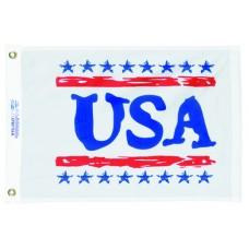 "12x18"" Nylon USA Flag"