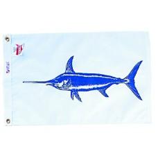 """12x18"""" Nylon Swordfish Flag"""
