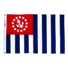 "12x18"" Nylon U.S.Power Squadron Flag"