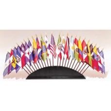"4x6"" OAS Flag Set & Base"