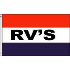 3x5' Nylon RV's Flag