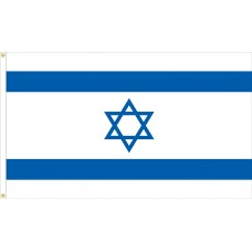 "4x6"" Hand Held Israel Flag"