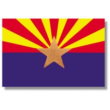 "4x6"" Hand Held Arizona Flag"