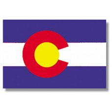 3x5' Lightweight Polyester Colorado Flag