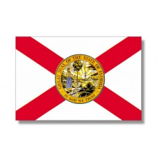 "4x6"" Hand Held Florida Flag"