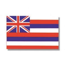 """4x6"""" Hand Held Hawaii Flag"""