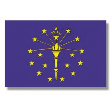 "8x12"" Hand Held Indiana Flag"
